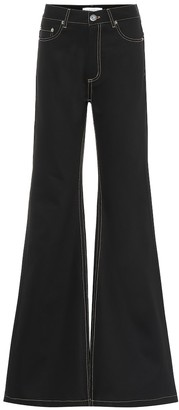 Matthew Adams Dolan High-rise flared jeans