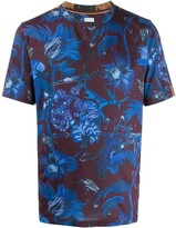 Paul Smith slim fit printed T-shirt