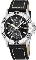 Lotus Men's Quartz Watch with Dial Analogue Display and Leather Strap 15813/4