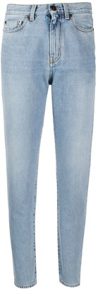 Saint Laurent Straight-Leg Boyfriend Jeans