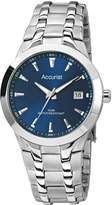 Accurist Blue Dial Stainless Steel Bracelet Mens Watch