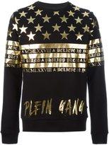 Philipp Plein stars and stripes sweatshirt - men - Cotton - L