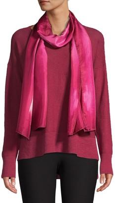 Eileen Fisher Shibori Silk Dash Scarf