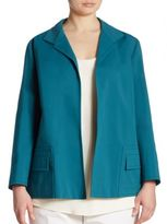 Lafayette 148 New York, Plus Size Benny Open-Front Jacket