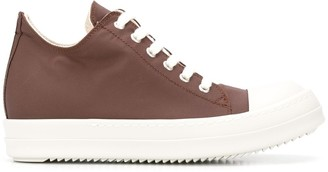 Rick Owens Lace-Up Ankle Length Sneakers
