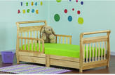 Dream On Me Toddler Sleigh Bed with Storage