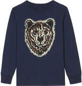 Stella McCartney Crumble bear print cotton T-shirt 4-16 years