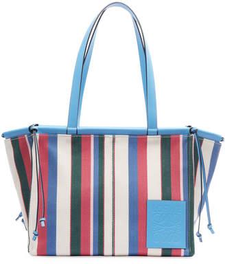 Loewe Cushion Striped Tote Bag