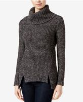 Kensie Asymmetrical Turtleneck Sweater