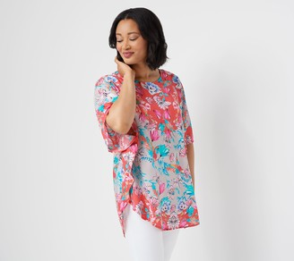 Tolani Collection Regular Printed Woven Caftan Tunic