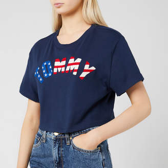 Tommy Jeans Women's Tommy US Flag T-Shirt