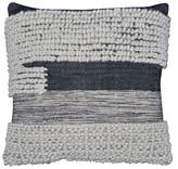 Threshold Knit Oversized Pillow - Black/White