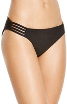 Red Carter Multistrap Side Tab Hipster Bikini Bottom