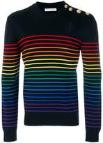 J.W.Anderson rainbow stripe jumper