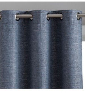 Hlc.Me Obscura by Hlc. me Townsville 100% Blackout Grommet Curtain Panels - 37 W x 84 L - Set of 2