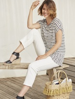 White Stuff Pretty stripe jersey tee