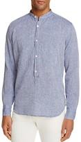 Eleventy Slim Fit Popover Shirt - 100% Exclusive