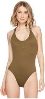 Polo Ralph Lauren Military Cargo Henley Mio Women's Swimsuits One Piece