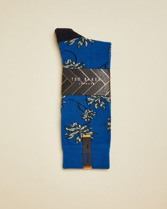 Ted Baker KHORUS Cotton blend leaf socks