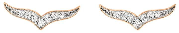 ginette_ny Diamond Wise Stud Earrings