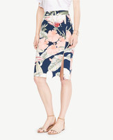 Ann Taylor Home Skirts Petite Island Floral Pencil Skirt Petite Island Floral Pencil Skirt