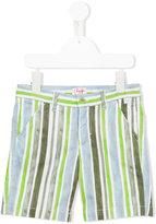 Il Gufo striped shorts - kids - Cotton/Spandex/Elastane - 4 yrs