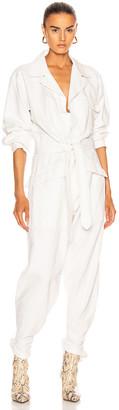 Nili Lotan Aria Jumpsuit in White | FWRD