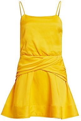 Derek Lam 10 Crosby Women's Cami Flounce Mini Dress