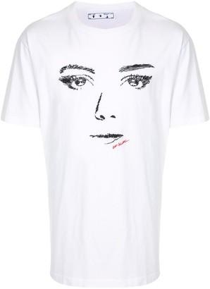 Off-White woman gaze T-shirt