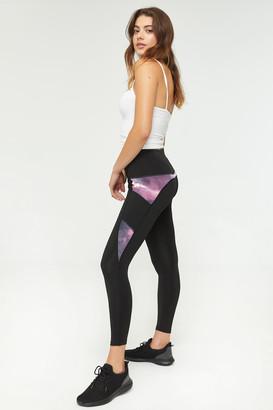 Ardene Tie-dye Color Block Leggings