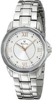 Bulova Women's 96L172 Dress Round Bracelet Watch
