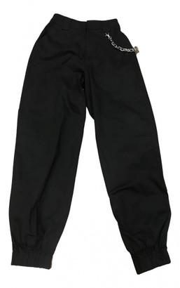 I.AM.GIA Black Cotton Trousers