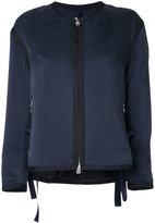 CITYSHOP zip up jacket - women - Silk - One Size