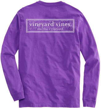 Vineyard Vines X's & O's Play Box Long-Sleeve Pocket Tee