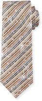 Robert Graham Ines Jacquard Silk Tie, Orange