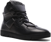 Loewe Leather High Sneakers