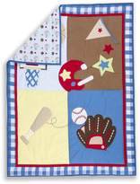 Dream On Me All-Star 2 Piece Playard Set, Blue/Red by