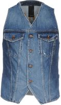(+) People + PEOPLE Denim outerwear - Item 42602542