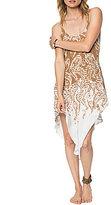 O'Neill Bonni Paisley-Printed Woven High-Low Scarf-Hem Dress