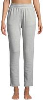 Pour Les Femmes Terry Cloth High-Waist Sweatpants