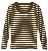 Petit Bateau Womens sailor-striped cotton sweatshirt