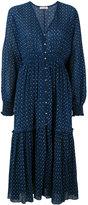 Ulla Johnson printed ruffle dress - women - Cotton - 6