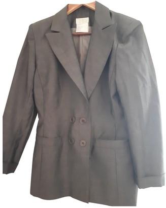 Emmanuelle Khanh Grey Jacket for Women Vintage