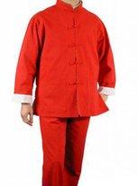 Interact China 100% Cotton Kung Fuartial Arts Tai Chi Unifor Suit XS-XL or Tailor Custoade + Freeagazine