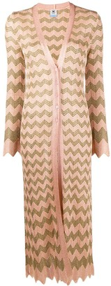 M Missoni Zigzag Edge Cardigan