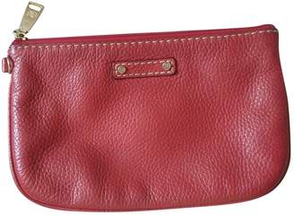 Lancel Red Leather Purses, wallets & cases
