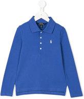 Ralph Lauren longsleeved polo shirt - kids - Cotton/Spandex/Elastane - 2 yrs
