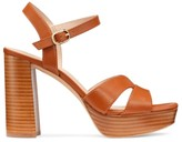 Kate Spade Delight Platform Leather Sandals