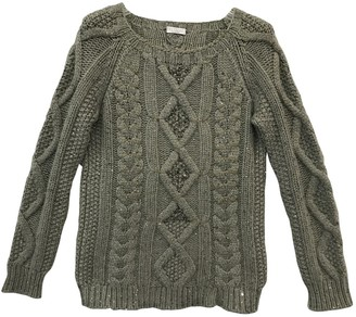 Brunello Cucinelli Khaki Cashmere Knitwear for Women