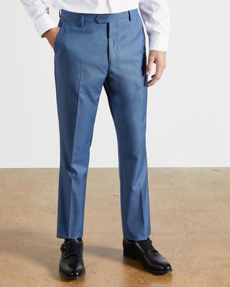 Ted Baker HECFAST Debonair sharkskin wool trousers